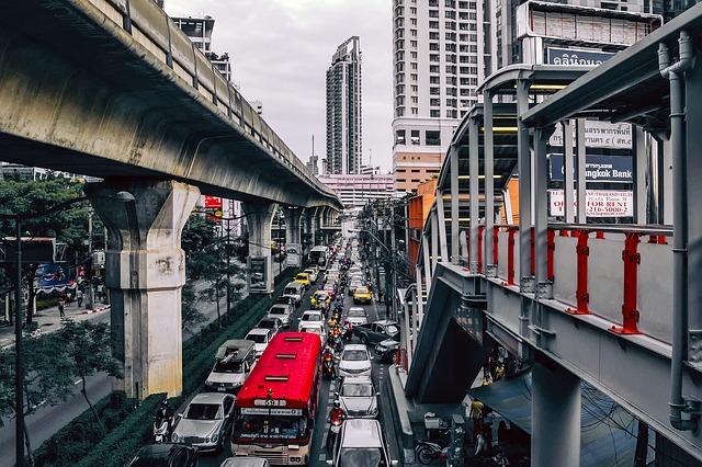 Автобусы из аэропорта Бангкока