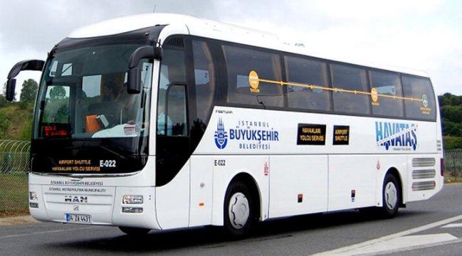 Из аэропорта в центр Стамбула и его пригороды можно доехать на автобусах Havas