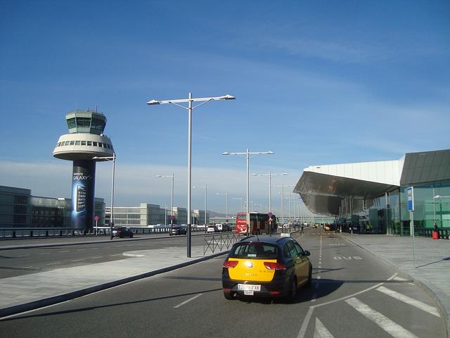 Такси в аэропорту Барселоны