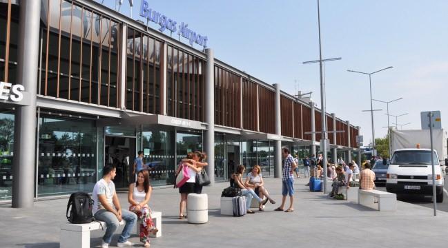 Аэропорт Бургас в Болгарии