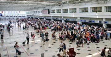 Несмотря на размеры аэропорта, потеряться в нем не получится