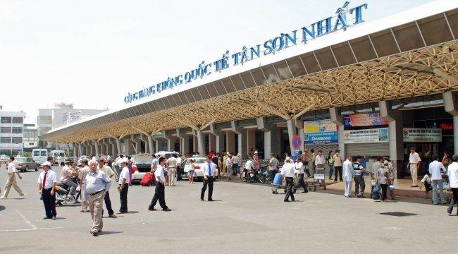 Терминал в аэропорту Хошимина Таншоннят