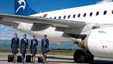 Аэропорт Подгорицы обслуживает регулярные и чартерные рейсы из стран ЕС, России, Украины и Беларуси