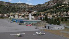 В несезон аэропорт Тивата нельзя назвать очень загруженным