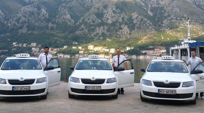 Автомобили такси в Черногории