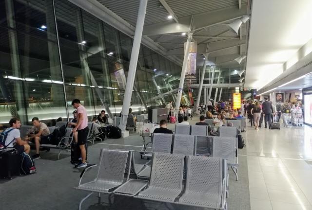 Аэропорт Варшава имени Фредерика Шопена, зона вылета