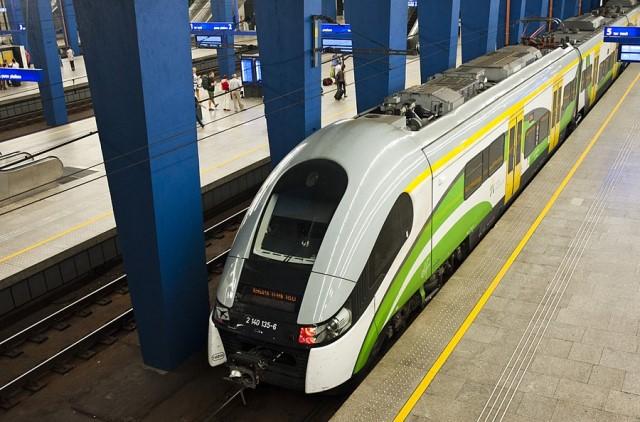 Поезд из аэропорта Шопен до Модлина