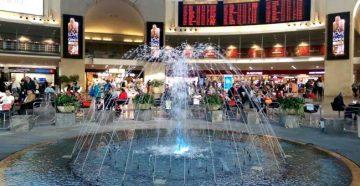 Терминал аэропорта Бен Гурион Тель-Авив