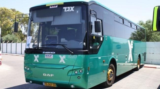 автобус компании Egged, Тель Авив