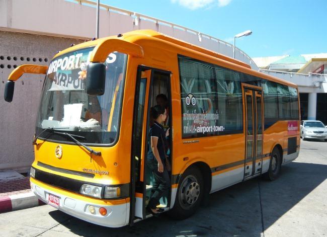 Автобусы (Airport bus) в аэропорту