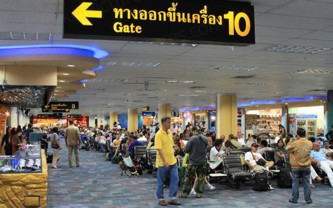 Пассажирский терминал, аэропорт Пхукета