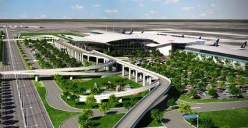 Панорама Международного аэропорта Ханоя Нойбай
