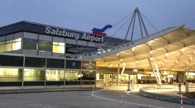 Австрийский аэропорт Зальцбург