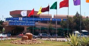 Международный аэропорт Гоа Даболим обслуживает порядка 3,5 млн. пассажиров в год