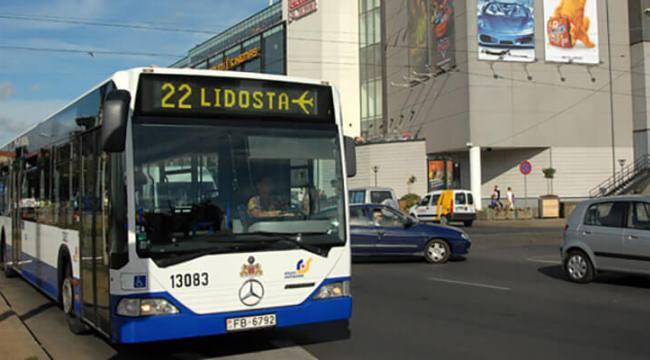 Автобус 22 из аэропорта