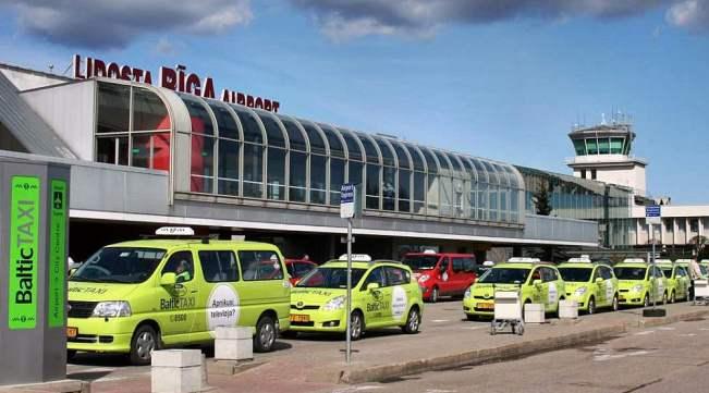 Такси у терминала