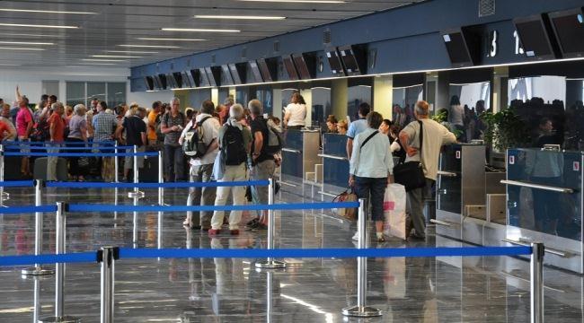 Пассажирский терминал аэропорта Бодрум в Турции