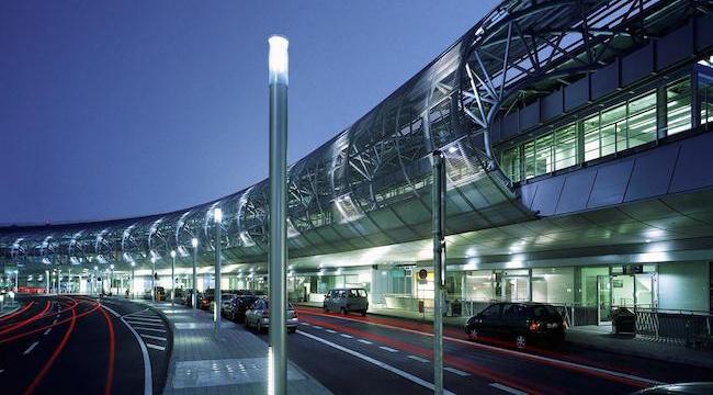 Немецкий аэропорт Дюссельдорф