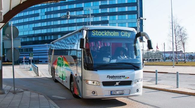 автобус Flygbussarna