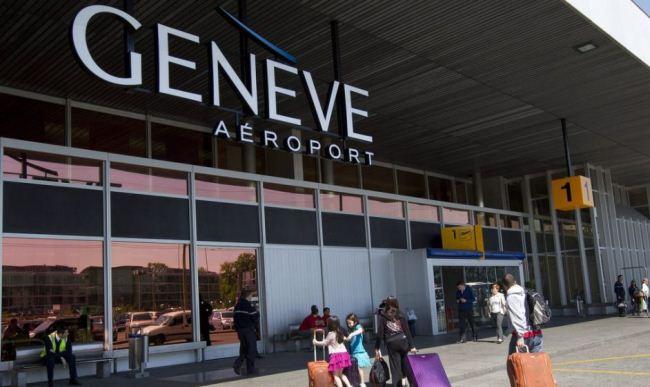 Аэропорт Женевы в Швейцарии