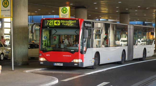 Автобус №721 из аэропорта