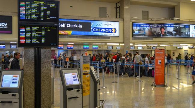 Аэропорт Мальта, пассажирский терминал