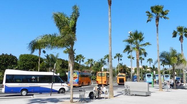 Из аэропорта Тенерифе автобусом