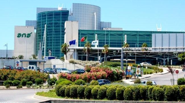 Здание португальского аэропорта в Лиссабоне
