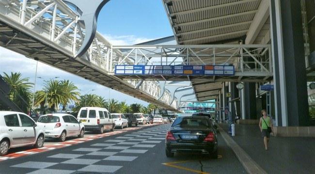 Из аэропорта Ниццы на такси