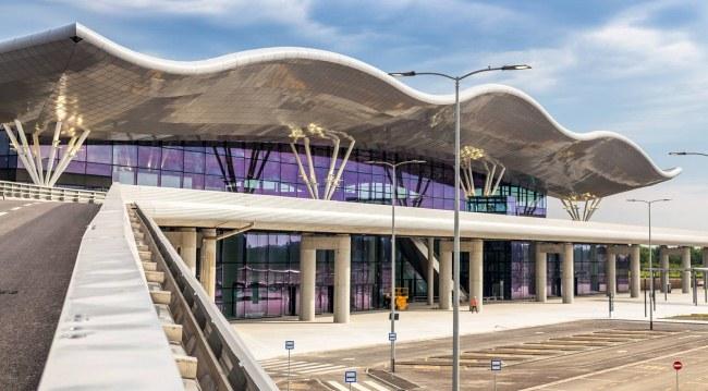 Новый терминал аэропорта Плесо