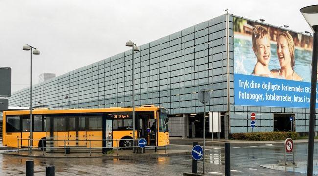Из аэропорта Каструп до города автобусом