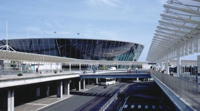 Терминал 1 аэропорт Ниццы