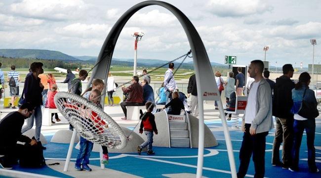 Смотровая площадка в аэропорту