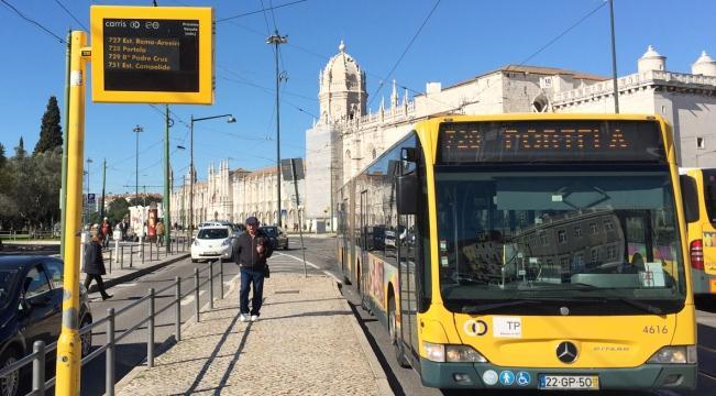 Из аэропорта Лиссабона до центра города автобусом