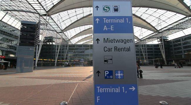 стойки аренды авто в мюнхенском аэропорту