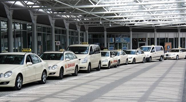 Из аэропорта Мюнхена на такси