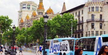 В Барселоне Terravision сотрудничает с Aerobus
