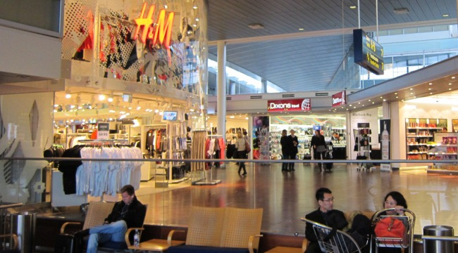 аэропорт Дании Каструп