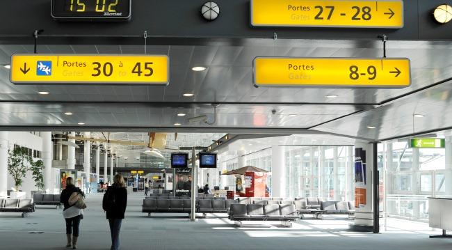 Пассажирский терминал аэропорта Прованс
