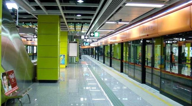 Станция метро в Гуанчжоу