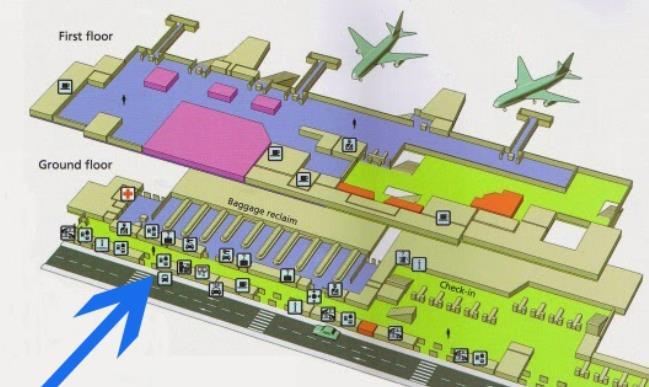 Схема аэропорт Ибица