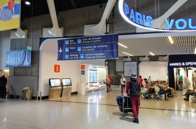 Аэропорт Парижа Терминал 1