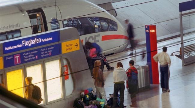 Поезда из аэропорта Франкфурта