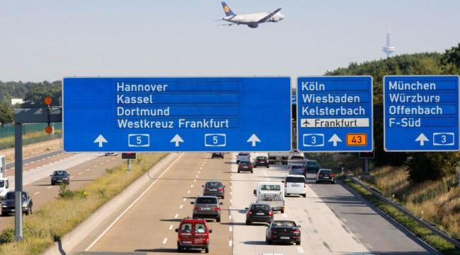 Аренда авто в аэропорту Франкфурта