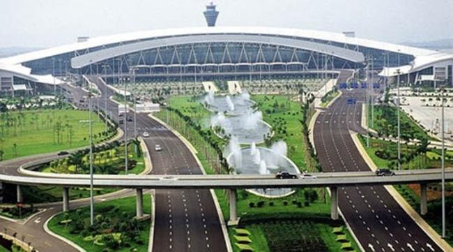 Аэропорт Гуанчжоу Байюнь в Китае