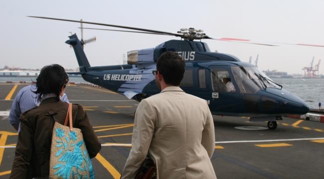 Из аэропорта Джона Кеннеди на вертолете