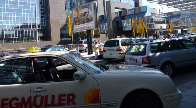 Из аэропорта Франкфурта до города на такси
