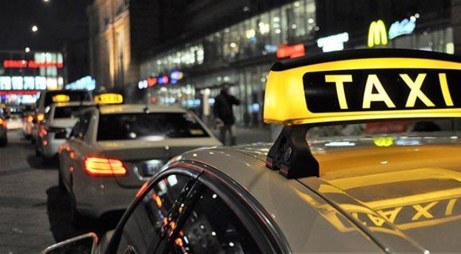 Из аэропорта Ганновера до города на такси