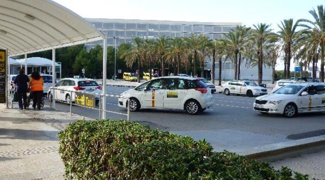 Из аэропорта Пальма-де-Мальорка на такси