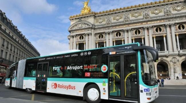 Автобусы RoissyBus из аэропорта Парижа